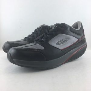 MBT Walking Shoes Women's 10 Black Gray